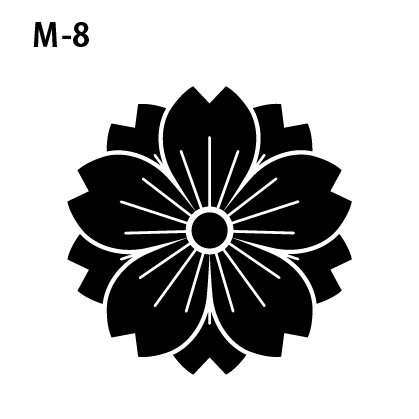 ワンポイントマークm-08
