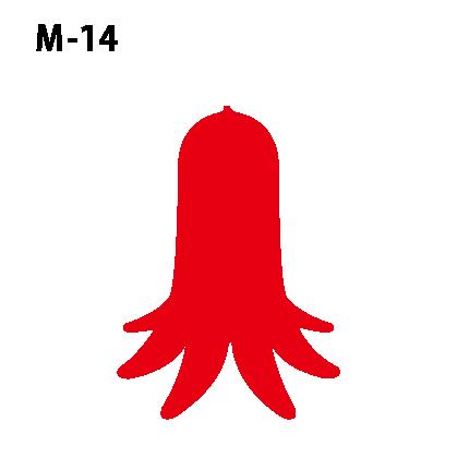 ワンポイントマークm-14