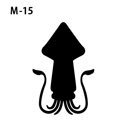 ワンポイントマークm-15