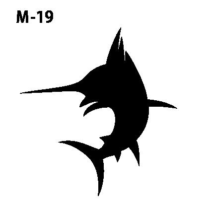 ワンポイントマークm-19