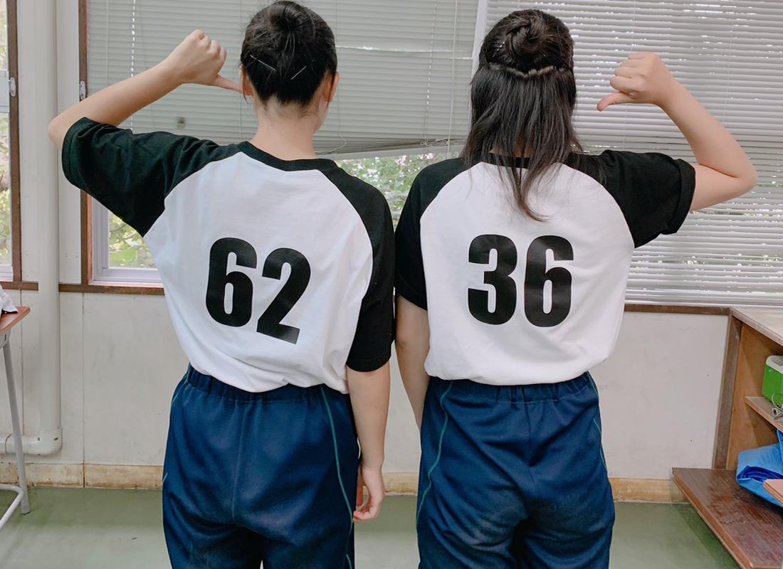背番号クラスTシャツ