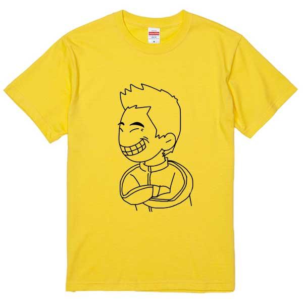 似顔絵デザインTシャツ