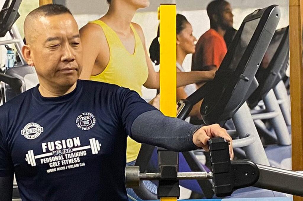大阪府 株式会社トータル・フィットネス・コンサルティング様 仕事着オリジナルTシャツ