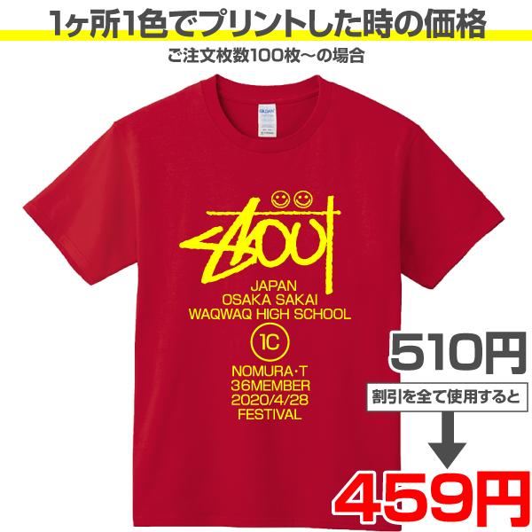 激安オリジナルTシャツ