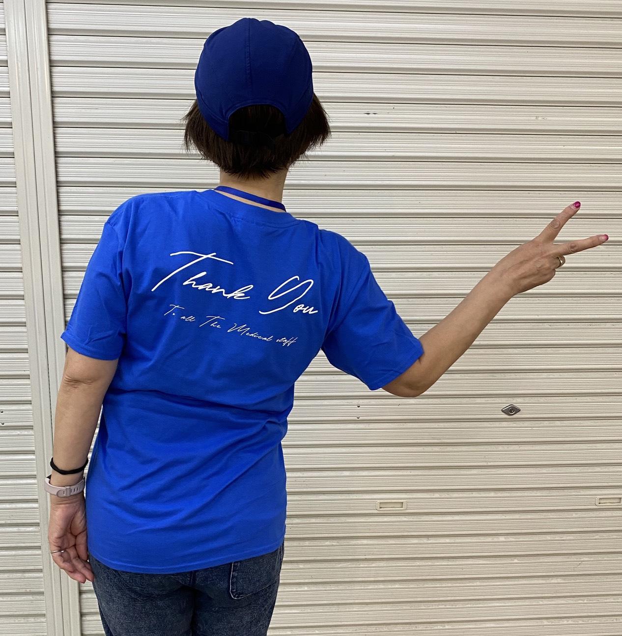 オリジナルTシャツ背面Tシャツ