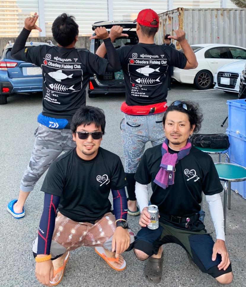 釣りチームオリジナルTシャツ