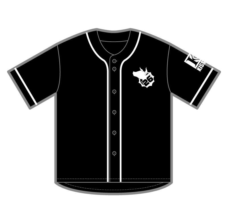 ベースボールシャツ_前