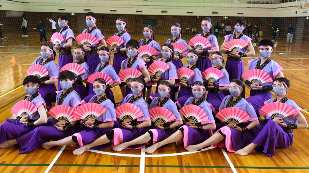 兵庫県芦屋市 A高等学校ダンス部様 オリジナルマスク