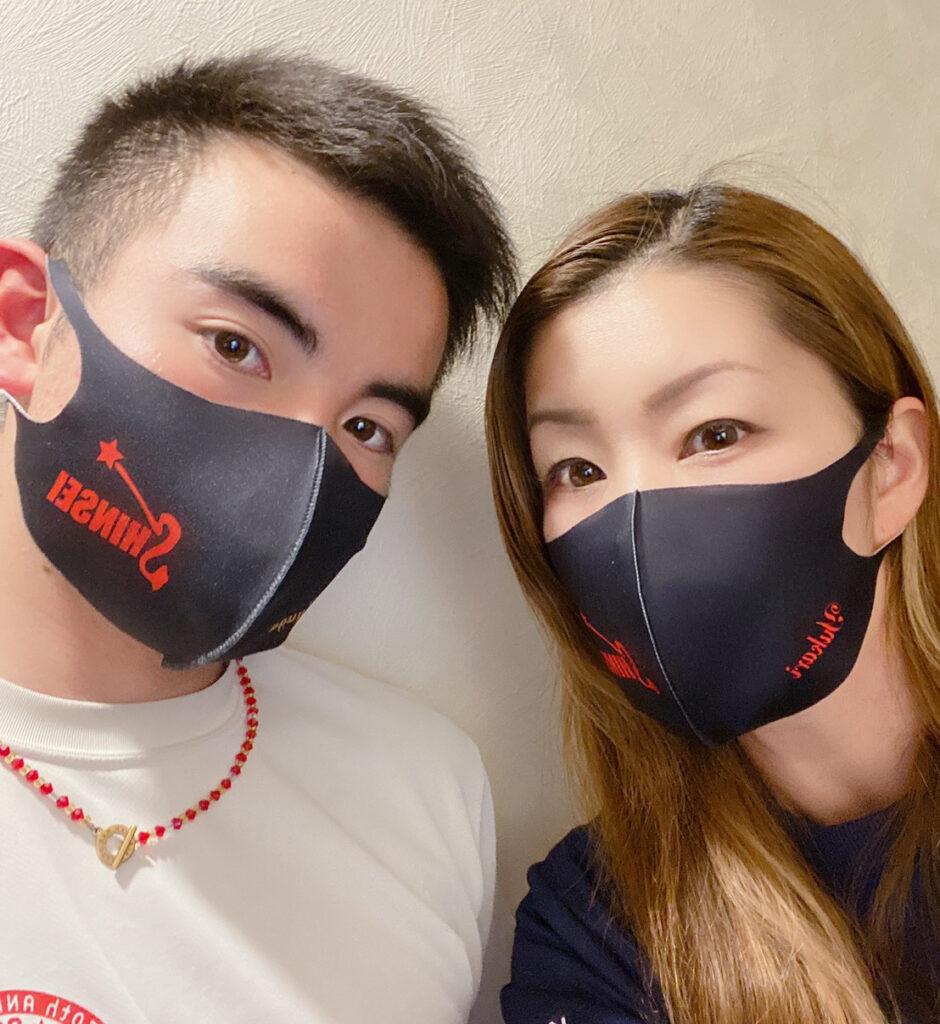 長崎県松浦市 小学生バレーボールクラブ K様 オリジナルマスク