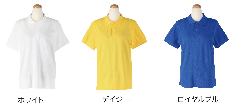 ポロシャツ透け感