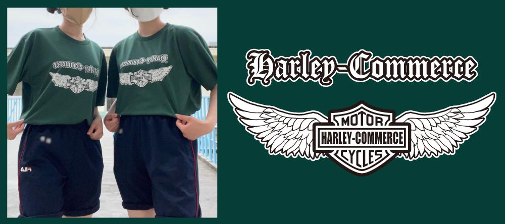 ハーレー風クラスTシャツ