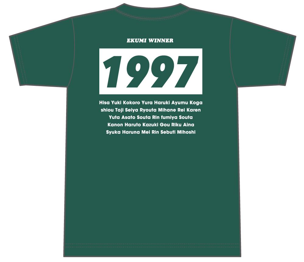 クラスTシャツ全員の名前