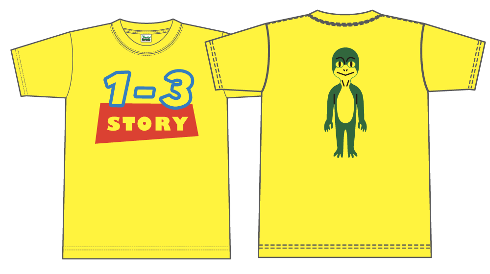 クラスTシャツトイストーリーパロディ