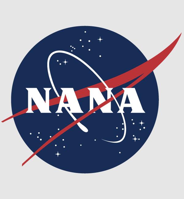 NASA風デザイン