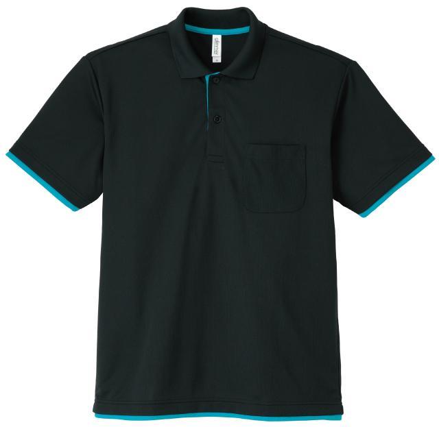 339AYPドライレイヤードポロシャツ