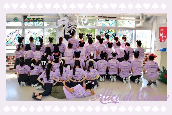 学園祭アリスクラスTシャツ
